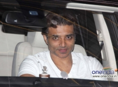 Uday Chopra arrives at Special Screening of Madras Cafe