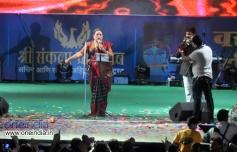 Usha Uthup at Sachin Ahir's Dahi Handi Celebration
