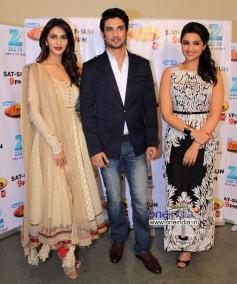 Vaani, Sushanth & Parneeti at Shudh Desi Romance Movie Promotion at DID Super Mom