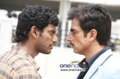 Vishal and Sonu Sood in Nataraju Thane Raju