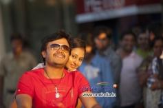 Actor Ganesh and Amoolya in Kannada Movie Sravani Subramanya