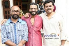 Actor Jayasurya at Movie Punyalan Agarbathis Pooja
