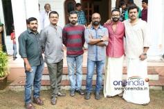 Actor Jayasurya at Punyalan Agarbathis Film Pooja