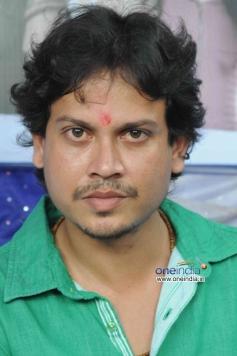 Actor at Kannada Film Brahma Vishnu Maheshwara Launch