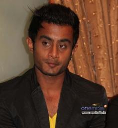Actor at Kannada Film Mamu Tea Angadi Press Meet