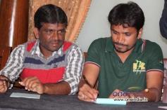 Actors at Kannada Movie Mamu Tea Angadi Press Meet