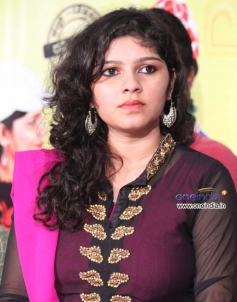 Actress Aishwarya at Jungle Jackie Press Meet