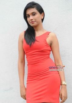 Actress at Brahma Vishnu Maheshwara Film Launch