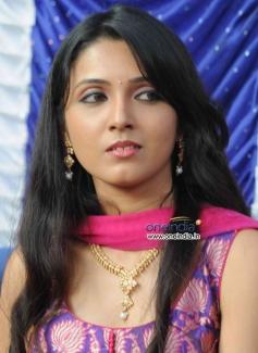 Actress at Kannada Film Brahma Vishnu Maheshwara Launch