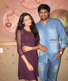 Actress at Kannada Film Preethi Geethi Ithyadi Press Meet