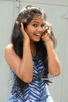 Actress Naveena Jackson at Daughter of Varma Movie Press Meet