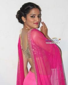 Actress Sukrutha at Film Jatta Audio Release