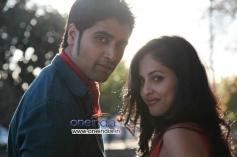 Adivi Sesh and Priya Banerjee still from Kiss Movie
