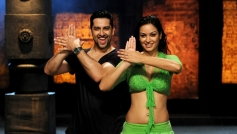 Aftab Shivdasani and Maryam Zakaria still from Grand Masti