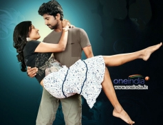 Amita Rao and Mahendra still from First Love