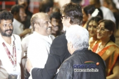 Amitabh Bachchan, Rajinikanth at 100 Years of Indian Cinema Celebration Closing Ceremony Photos