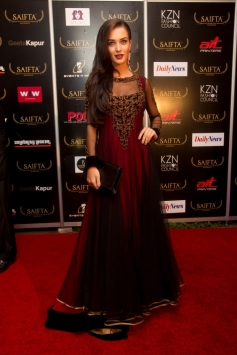 Amy Jackson at the red carpet of SAIFTA