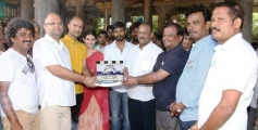 Anegan Movie Launch
