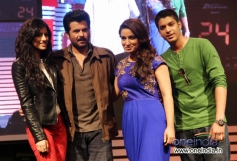 Anil Kapoor along with Divya Dutta at launch of Anil Kapoor's 24 series