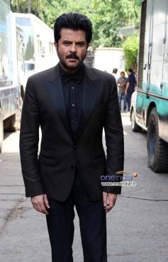 Anil Kapoor's 24 India tv show promotion on Jhalak Dikhhla Jaa 6 sets