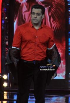Salman Khan at Bigg Boss 7 show stage