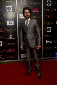 Arjan Bajwa at the red carpet of SAIFTA
