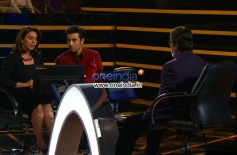 Besharam Movie Promotion on KBC