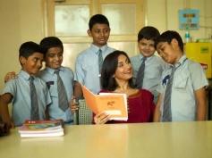 Divya Dutta as Teacher in Stanley Ka Dabba