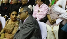 Boney Kapoor, Sridevi Kapoor at 100 Years of Indian Cinema Celebration Closing Ceremony Photos