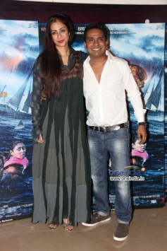 Tabu and Mushtaq Sheikh at special screening of Warning