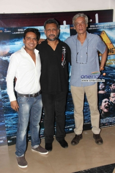 Anubhav Sinha and Sudhir Mishra at special screening of Warning