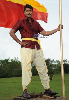 Darshan in Kannada Film Brindavana