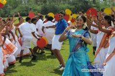 Darshan and Karthika Nair in Brindavana