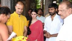 Dhanush, Amyra Dastur at Anegan Movie Launch