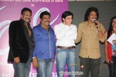 Dhruv, Upendra at Kannada Film Looti Press Meet