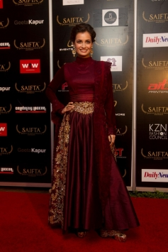 Dia Mirza at the red carpet of SAIFTA