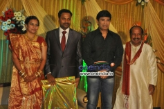 Anandaraj at Director Senthilnathan Son's Reception