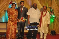 Santhana Bharathi at Director Senthilnathan Son's Reception