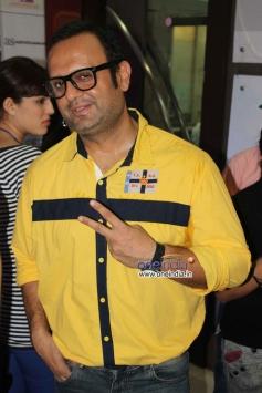 DJ Sheizwood at Veena Malik's Super Model film premiere