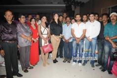 Eesha Koppikar, Dhruv at Kannada Film Looti Press Meet