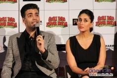 Karan Johar and Kareena Kapoor at Gori Tere Pyaar Mein first look launch