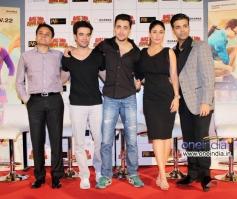 Punit Malhotra, Imran Khan, Kareena Kapoor and Karan Johar