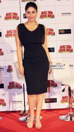 Kareena Kapoor during the first look launch of Gori Tere Pyaar Mein
