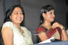 Actress Hema at First Love Audio Launch