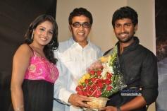 Mahendran, Amitha Rao at First Love Audio Launch