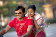 Ganesh and Amoolya in Kannada Movie Sravani Subramanya