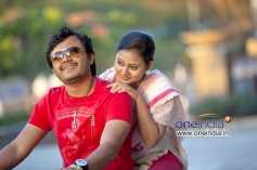 Golden Star Ganesh and Amoolya in Film Sravani Subramanya