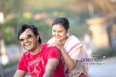 Golden Star Ganesh and Amoolya in Kannada Movie Sravani Subramanya