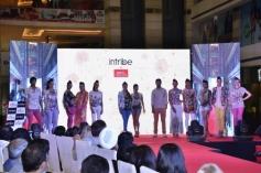 Grand Masti film starcast walk the ramp at Reliance Trends 'INTRIBE' brand launch