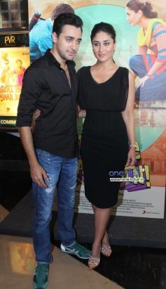 Imran Khan and Kareena Kapoor at first look launch of Gori Tere Pyaar Mein